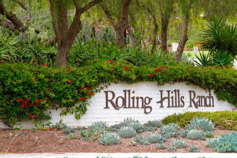 Rolling Hills Ranch Sign in Chula Vista California