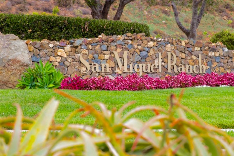 This is San Miguel Ranch Sign