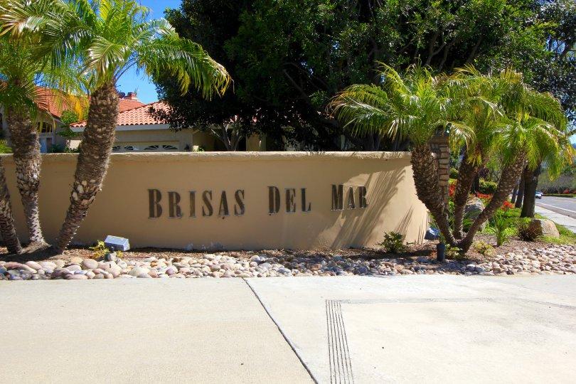 Brisas Del Mar Community Marquee