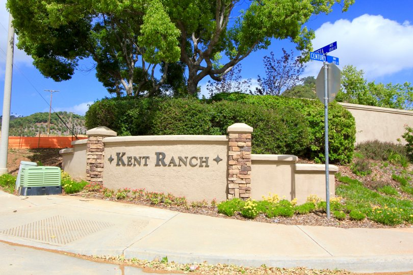 This is Kent Ranch Community Sign