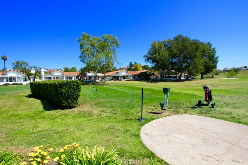 Residents enjoy fair views of the Greens of Ocean Hills Golf Course
