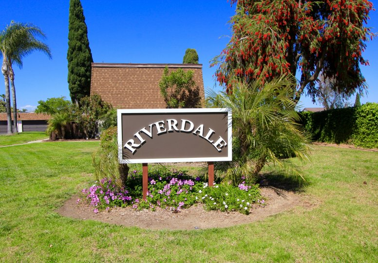 This is Riverdale Community Sign
