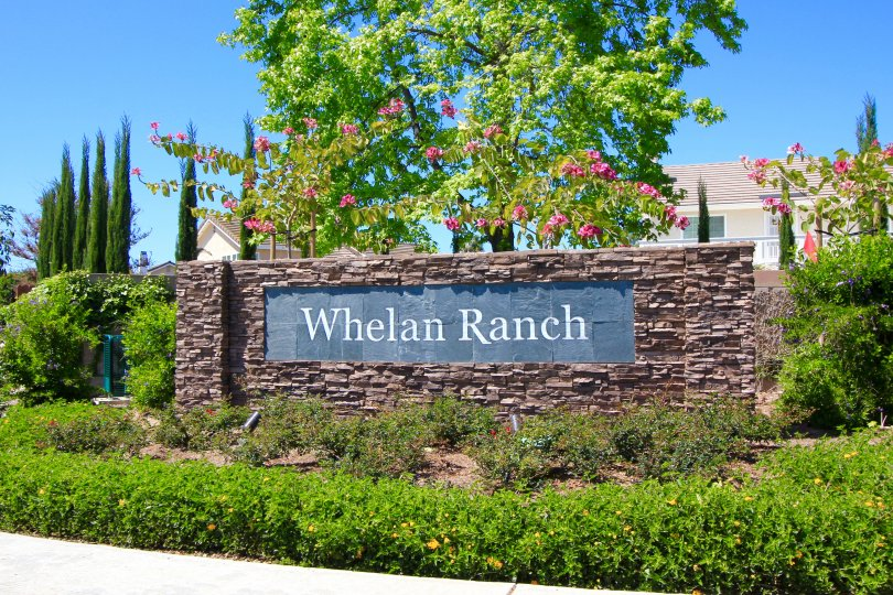This is Whelan Ranch Community Sign
