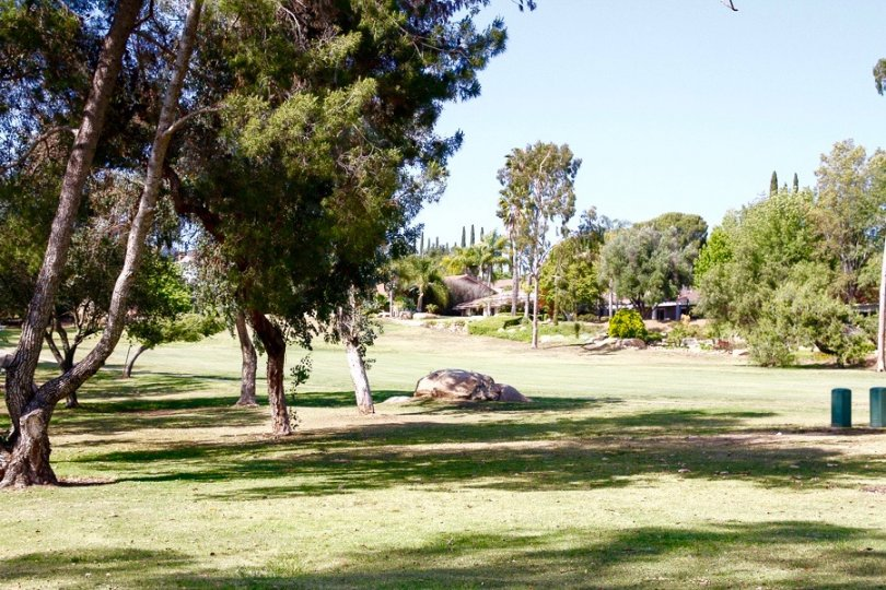 View of the Golf course in Stoneridge Community in Poway