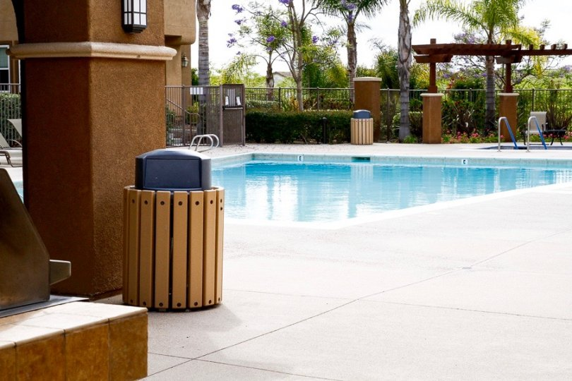 Residents enjoy access to pool in community activity center
