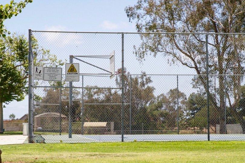 Basketball court in Penasquitos Bluffs Neighborhood
