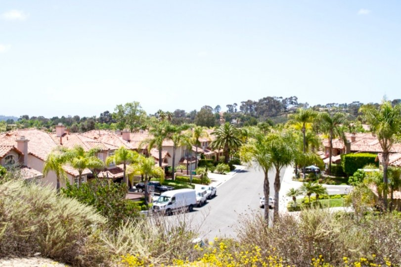 view of the neighborhood of Ashley Falls San Diego California