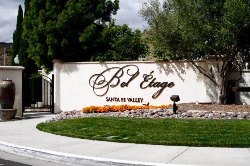 Bel Etage community Sign in San Diego California