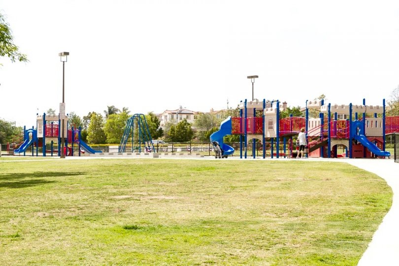Residents of the Belmont community enjoy access to lush green park with dedicated children play area.