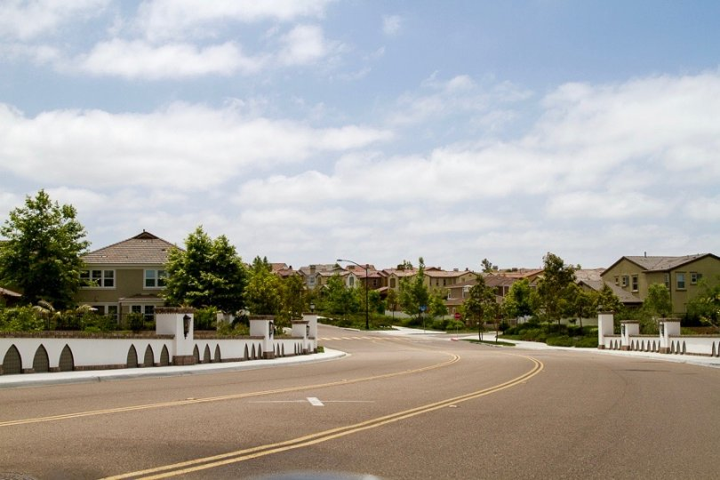 Fair view of the homes residing in Elms Community in San Diego California