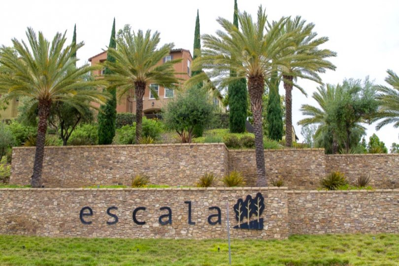 Escala Community Sign in San Diego