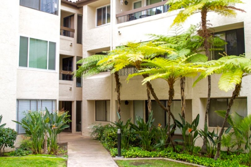 Mission Green Apartments in San Diego California
