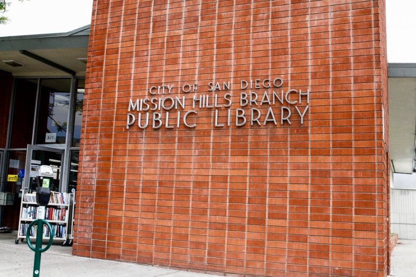 This is Mission Hills Branch Public Library