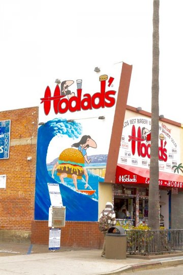 Ocean Beach commercial area has numerous retail stores, service centers, cafes and restaurants including the Hodads, know of their amazing burgers