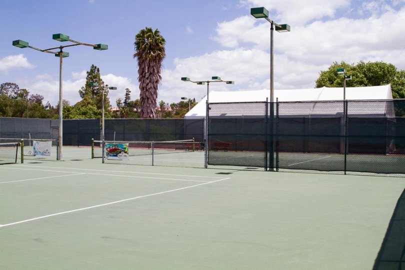Tennis Court in Penasquitos Estates Neighborhood