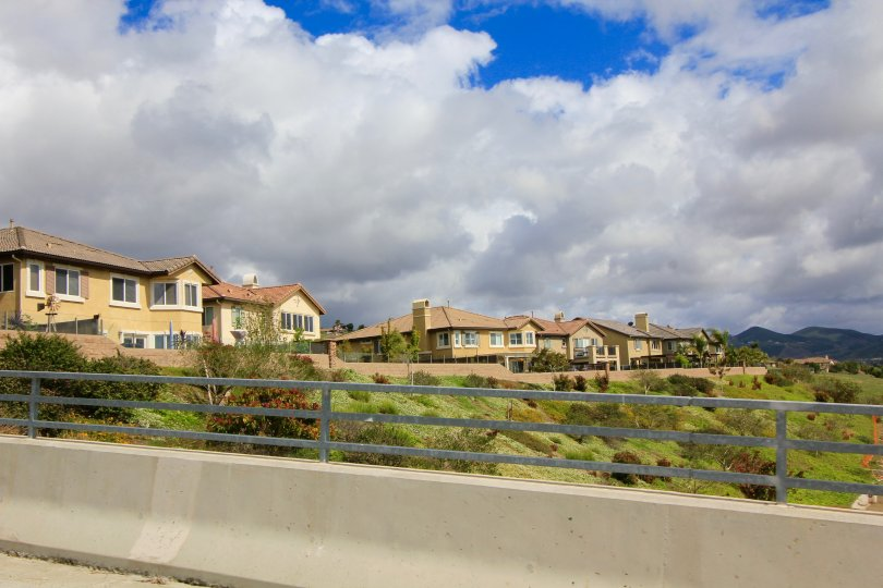 A view of the houses in the residential area in Rancho Santalina Neighborhood
