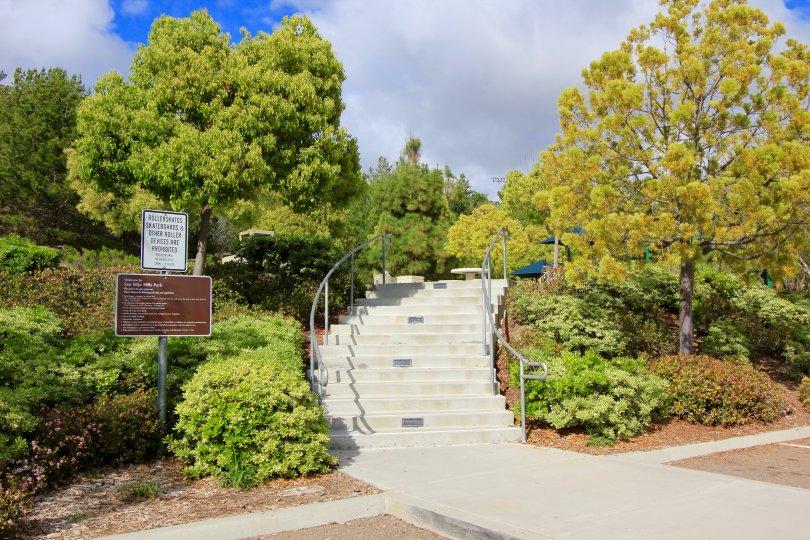 San Elijo Hills Park entrance