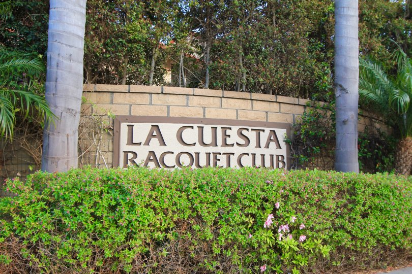 The La Cuesta Racquet Club Marquee