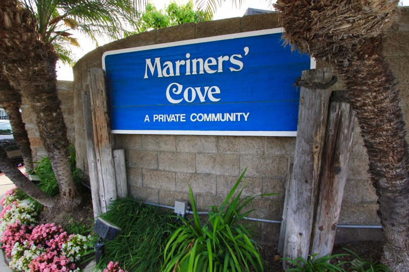 Mariners Cove community Marquee