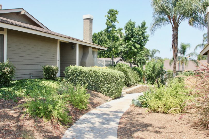 Magnolia Glen corona California small home very nice quit view to sun shine near green grasses and tree