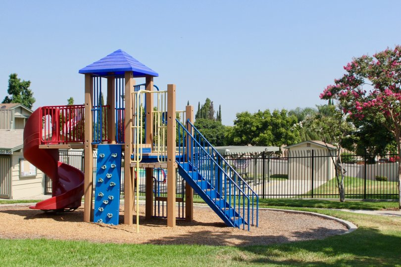 Amazing Park Facility at Village Grove Townhomes, Corona, Calfornia