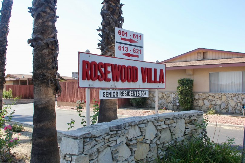 ROSEWOOD VILLAS IS A SENIOR RESIDENT WHICH IS LOCATED IN HEMET CITY AT CALIFORNIA