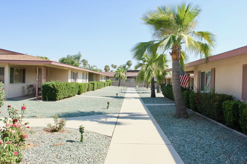 Rosewood Villas Building with Beauty Road Location at hemet City in Califorina