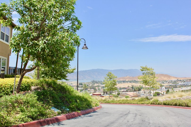 A lovey view of Lake Elsinore California from the Vista Del Lago Community.