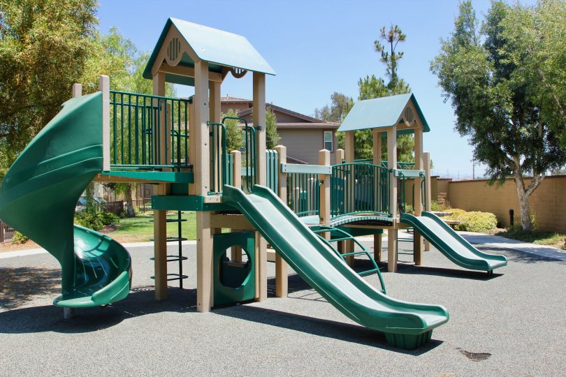 A sunny day at the playground near Amberwalk at Ivy Murrieta