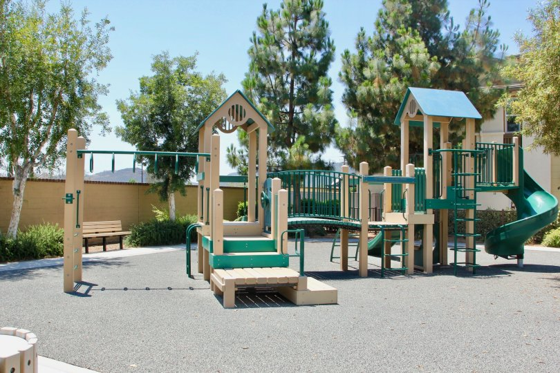 Murrieta, California outdoor playground jungle gym.