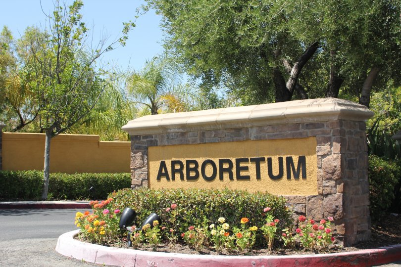 A beautiful, sunny day at the Arboretum in Murrieta, California.