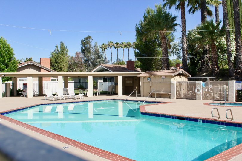 The glorious pool at Arroyo Viejo looks perfect for a summer swim