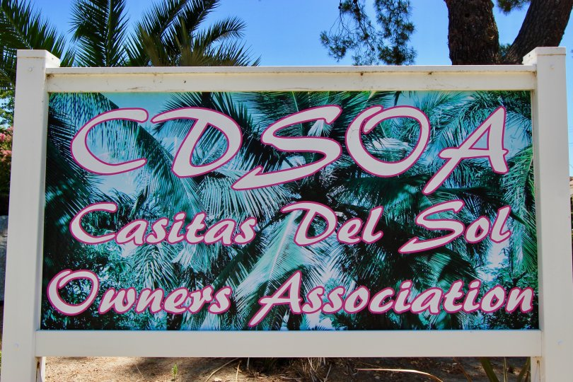 Big Signage of Casitas Del Sol, Murrieta, California