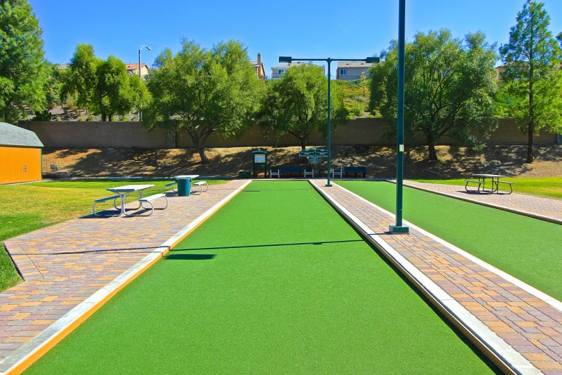 Amazing sight of recreation facilities at Country Club Villas at Bear Creek, Murrieta, California