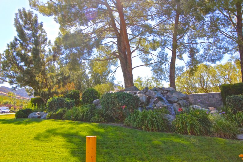 A sunny day at the Country Club Villas at Bear Creek in Murrieta, CA