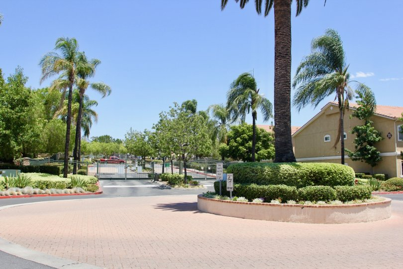 A sunny day in the Madison Park Villas of Murrieta, California.