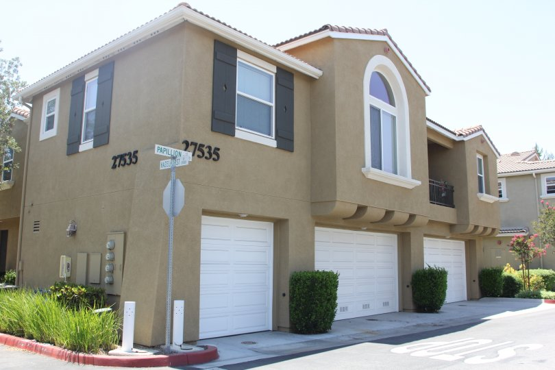 27535 on a villa with two floors in North Oaks community