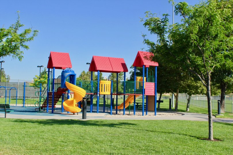 Children playground location of Paseos at Crown Valley in murrieta at califorina