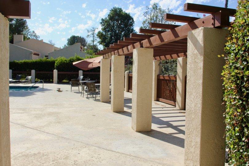 Recreational area of Ridgegate community, Murrieta, California