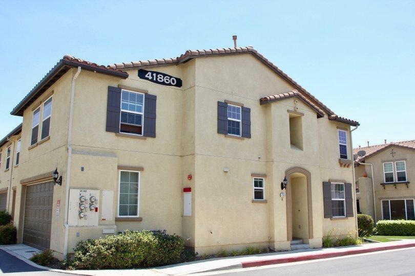 House number 41860 and her grand looks, Sonrisas at Murrieta, Murrieta, California