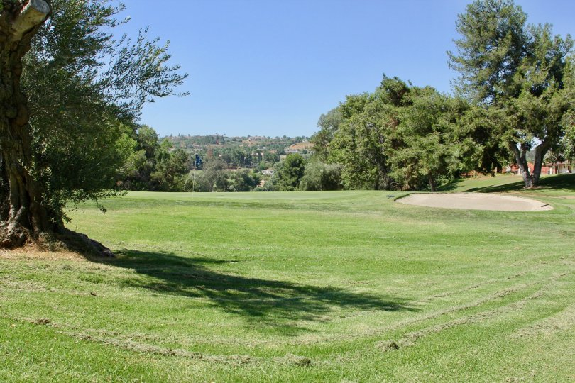 14th Green Condos on a Golf Course in Riverside California offer views of not only the golf course but the surrounding valley