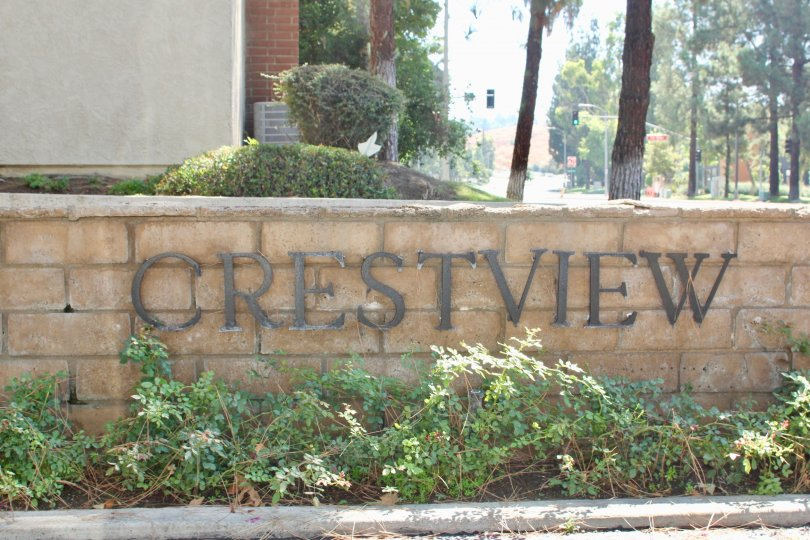 Crest View Estates House having Wall with Attractive Beauty Location in riverside City at Califorina