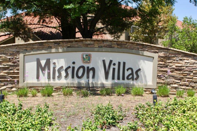The beautiful community of mission villas in California.