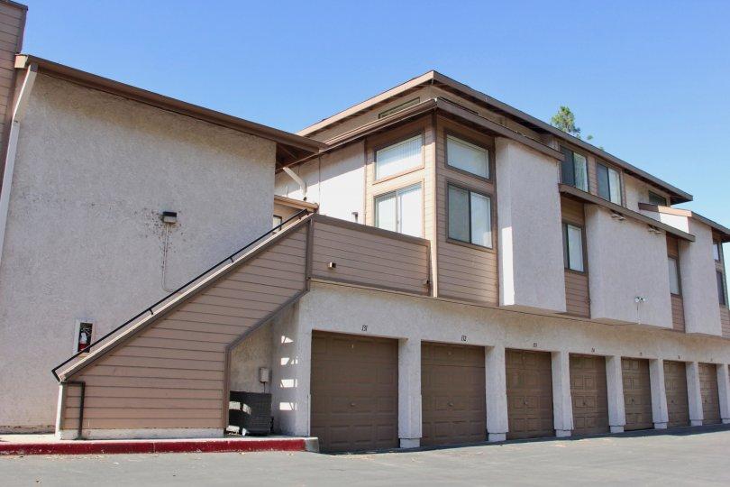 Tastefully built Palmilla apartment building, Riverside, California