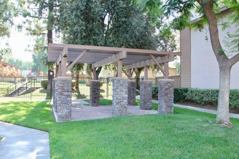 palmilla riverside california pergola outdoors trees walkway