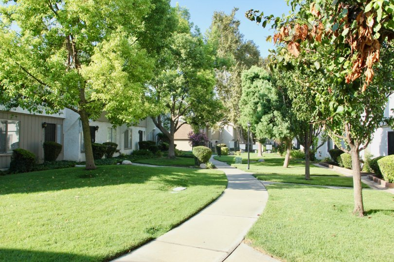 Parkdale Village and her superbly green community, riverside, California