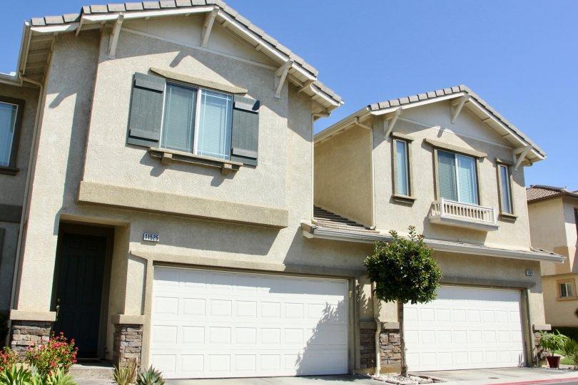 A typical storey building apartment at Riverwalk, Riverside, California