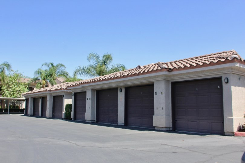 Storage facility at Sonata at Canyon Crest, Riverside, California