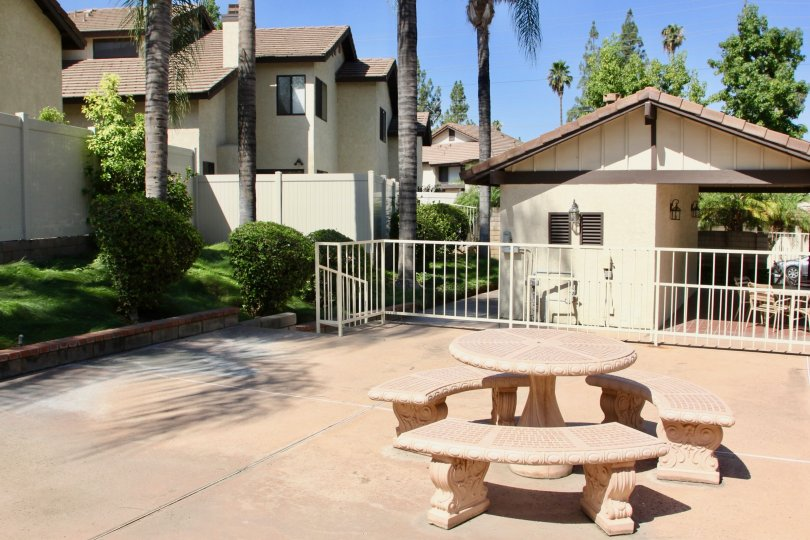 A sunny grotto at The Crest community in Riverside California