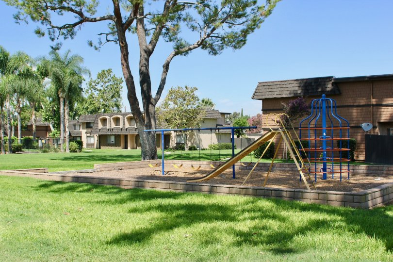 A relaxing house for your family and a park attached for your child to play in white oak riverside California
